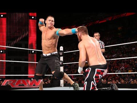 John Cena vs. Sami Zayn – United States Championship Match: Raw, May 4, 2015