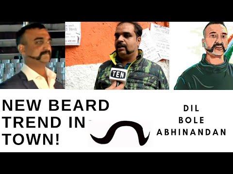 Beard styles - Beard it like Abhinandan: The gunslinger moustache trending in Town, People Going Gaga over it