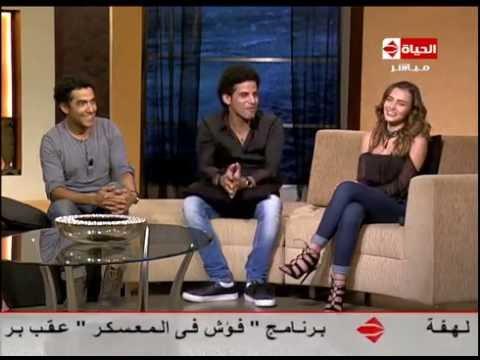 """شاهد - حمدي الميرغني متحدثا عن معاناته مع """"ليالي الحلمية"""": كله ضرب في ضرب"""