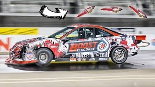 1000hp Integra's Roof BLOWS OFF! by 1320Video