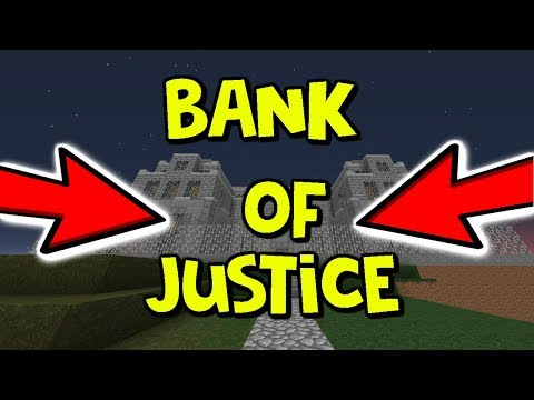 THE BANK OF JUSTICE! | Modded Factions #11