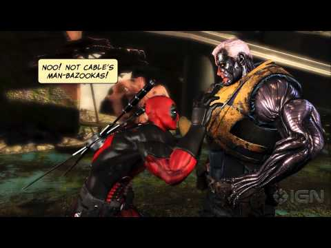 new game - Check out Deadpool at Comic Con 2012 http://bit.ly/YYxAV9 Get a lengthy look High Moon Studios' new game on Marvel's anti-hero. Subscribe to IGN's channel fo...