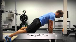 Exercise Index: Renegade Row
