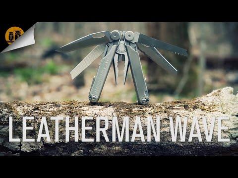 Podrobna predstavitev vsestranskega noža Leatherman Wave