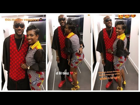 2face Idibia Suprise His Wife and Kids For The First Time..... ( MUST SEE )