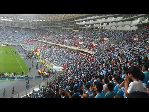 SPORTING CRISTAL CAMPÉON 18-12-2016 - Extremo Celeste - Sporting Cristal
