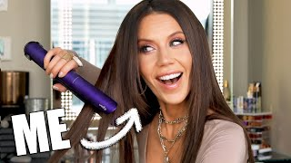 Who's DUMB ENOUGH to SPEND $500 on a DYSON FLAT IRON? by Glam Life Guru