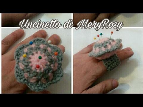 anello puntaspilli crochet - fantastico
