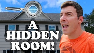 Video I Found A Hidden Room In Our House with Creepy Abandoned Stuff Inside! MP3, 3GP, MP4, WEBM, AVI, FLV Maret 2019
