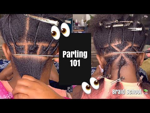Part Like a Pro!| Parting 101 | Braid School Ep. 24