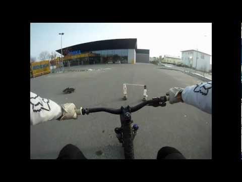 Test MTB  Bunny-Hop 60 cm-24 Zoll Hoch! Test Go Pro 960