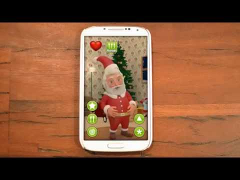 Video of Talking Santa Claus Free