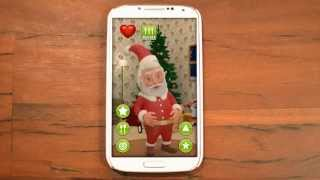Talking Santa Claus YouTube video