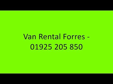 Van Rental Forres - 01925 205 850