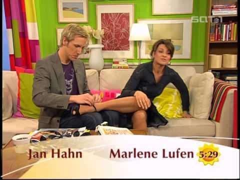 Marlene Lufen präsentiert ihre geilen Beine in High Heels