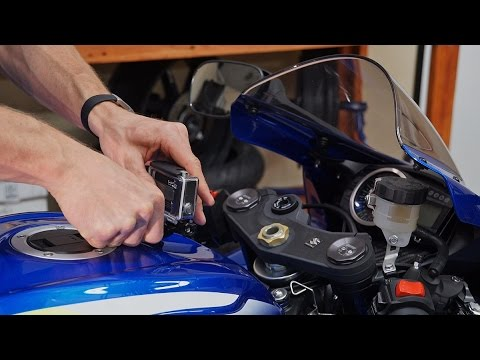 GoPro Mounting Tips For Your Motorcycle | MC GARAGE (видео)