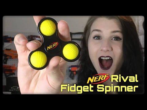 Nerf Rival Fidget Spinner!!!