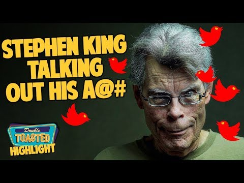 STEPHEN KING TWEETS ABOUT DIVERSITY AND PEOPLE ARE NOT HAPPY | Double Toasted