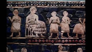 Standard of Ur, c. 2600-2400 B.C.E., 21.59 x 49.5 x 12 cm (British Museum) Speakers: Dr. Steven Zucker & Dr. Beth Harris.