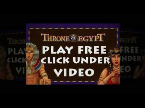 Throne of Egypt Slots Pokies Game Free