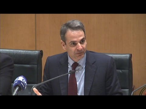 Σύσκεψη του προέδρου της ΝΔ Κ.Μητσοτάκη με φορείς της ανατολικής Κρήτης