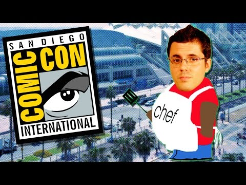 comic con - Smosh Games LIVESTREAM Fridays @ 3-5pm PT ▻▻ http://smo.sh/SGTwitchtv Smosh Games is back in San Diego for Comic-Con 2014. Jovenshire is kind enough to cook us breakfast… although this...