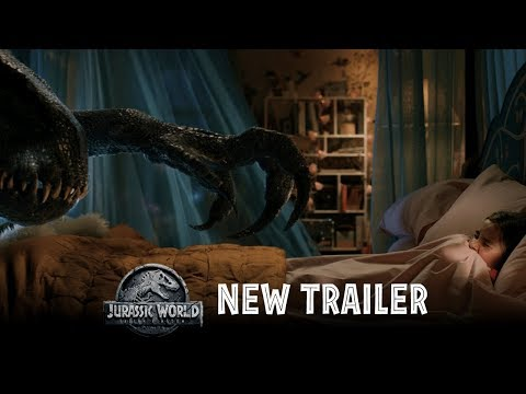 Jurassic World: Fallen Kingdom - Official Trailer #2 [HD] (видео)