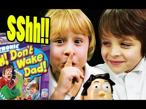 Sshh Don't Wake Dad: Game Review of Don't Wake Dad by Drumond Park Games!  | Beau's Toy Farm