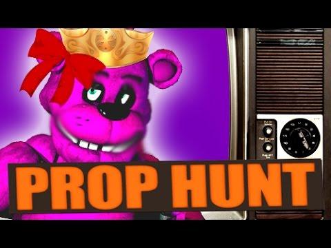 Freddy Fazbear!?? -- Gmod Siblings PROP HUNT! 20 (Garry's Mod)