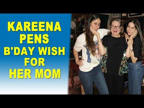 Kareena Kapoor Khan pens heartfelt note for mother Babita on her birthday