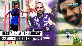 Video RESMI Ribery Gabung Fiorentina 😍 M. Salah Lari Diatas Air Gak Tenggelam 😱 Messi Sudah Sembuh MP3, 3GP, MP4, WEBM, AVI, FLV Agustus 2019