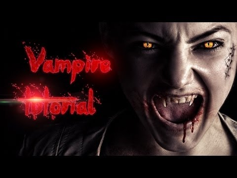 Vampire Effect – Advanced Photoshop Tutorial