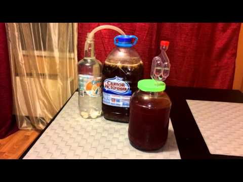 Рецепт вина из малинового варенья в домашних условиях