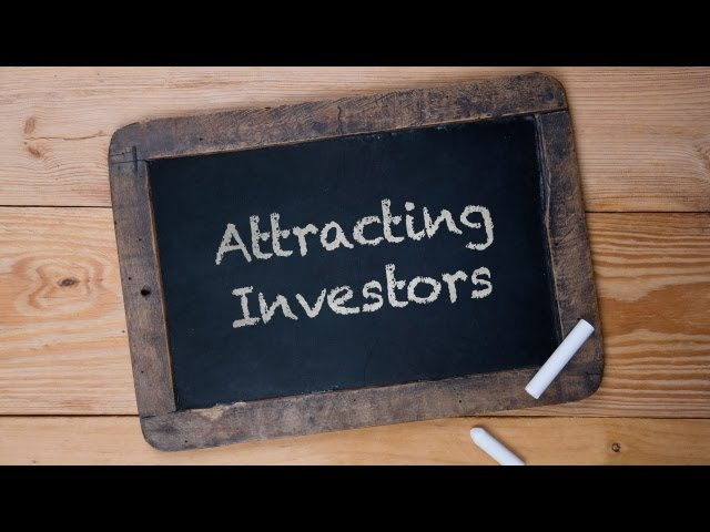 How do you find investors?