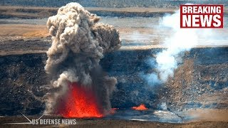 Video Hawaii Volcano: Fresh Warning as Summit Crater EXPLODES for SECOND TIME in a Week MP3, 3GP, MP4, WEBM, AVI, FLV September 2018
