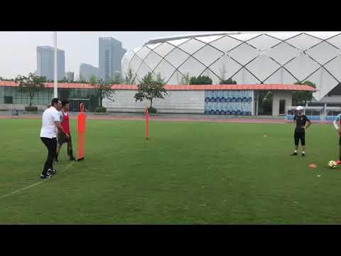 Treino de finalização Yiteng FC