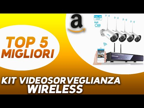 ✅ TOP 5: Miglior Kit Videosorveglianza Wireless 2020