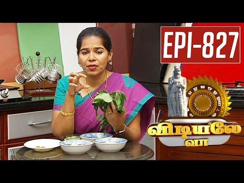 5-reasons-for-Hair-loss--Home-made-remedies-Vidiyale-Vaa-Epi-827-Unavu-Parambriyam