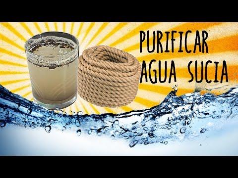 exp - Experimentos Casero ¿Te imaginas que te pierdes por el campo y no encuentras agua limpia? Pues te enseñamos un experimento muy sencillo de filtrar agua en ca...