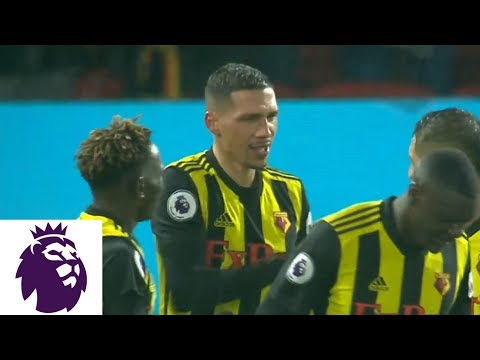 Video: Jose Holebas curls a stunner into the top corner against Cardiff City | Premier League | NBC Sports