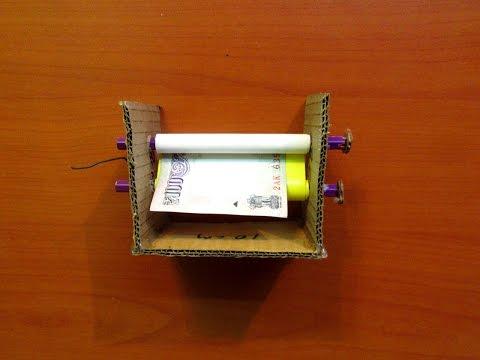 How to Make a Money Printing Machine (Home Made) - Easy Tutorials видео