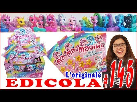 EDICOLA #145: MAGIKI UNICORNI (Unboxing collezione completa by Giulia Guerra) (видео)