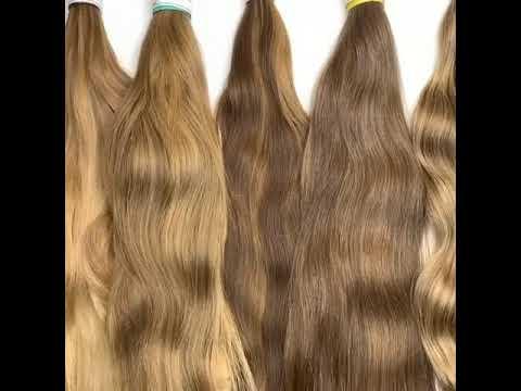 Натуральные срезы детских волос