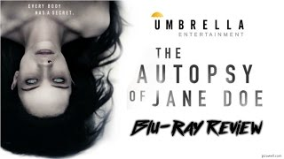 THE AUTOPSY OF JANE DOE 2016  Bluray Review Umbrella Entertainment