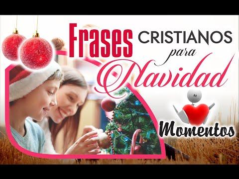 Frases cristianas para navidad, Palabras navideñas, Mensaje de feliz ...