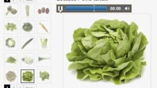 Vocabulaire Anglais Les Légumes (Vegetables)