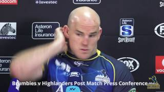Larkham not happy with refereeing in Quarter Final 1 | Super Rugby Video Highlights