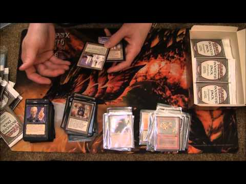 box - 1994 MTG Magic Antiquities Box Opening.