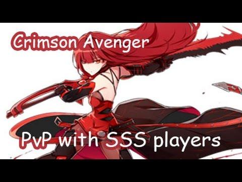 [Elsword KR] Crimson Avenger PvP with SSS players