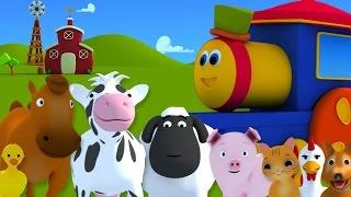 Olá a todos! Que belo dia! Vamos para o sítio! Bob o trem foi para o sítio, Ee i ee i oh! E no sítio viu cavalos Ee i ee i oh! Era rin rin...